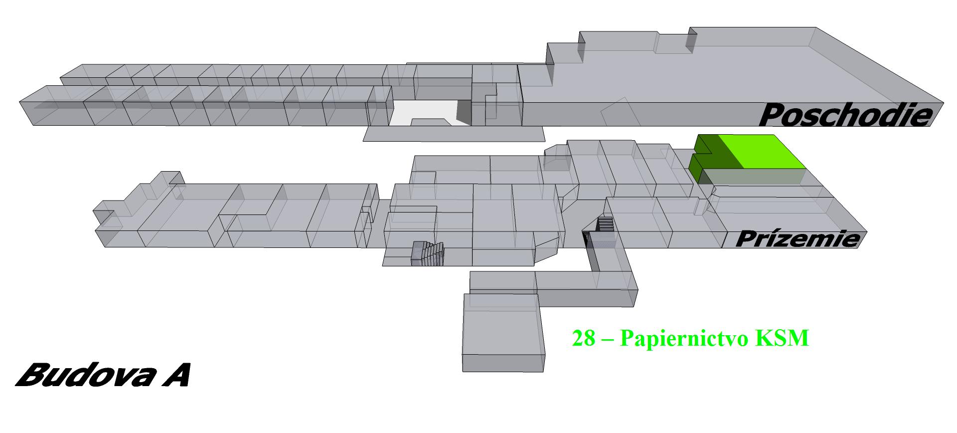 e9f656451a 28 Papiernictvo KSM budova A prízemie s u