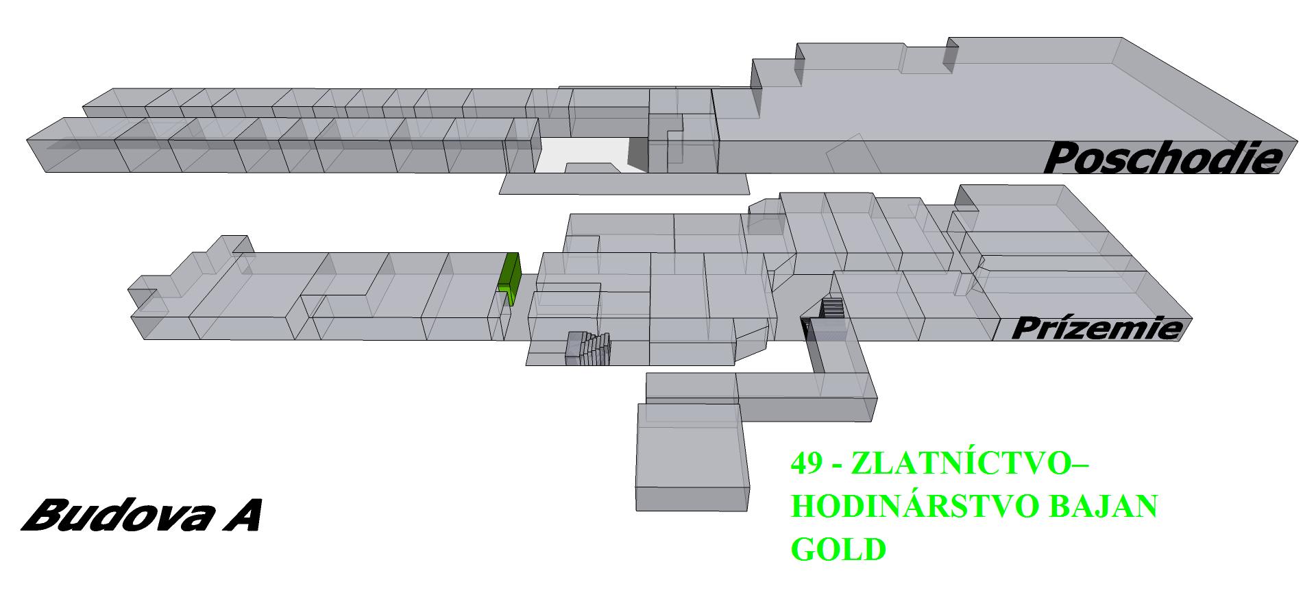 00cb9250e9 Zlatníctvo - hodinárstvo bajan Gold - OC PREMAT