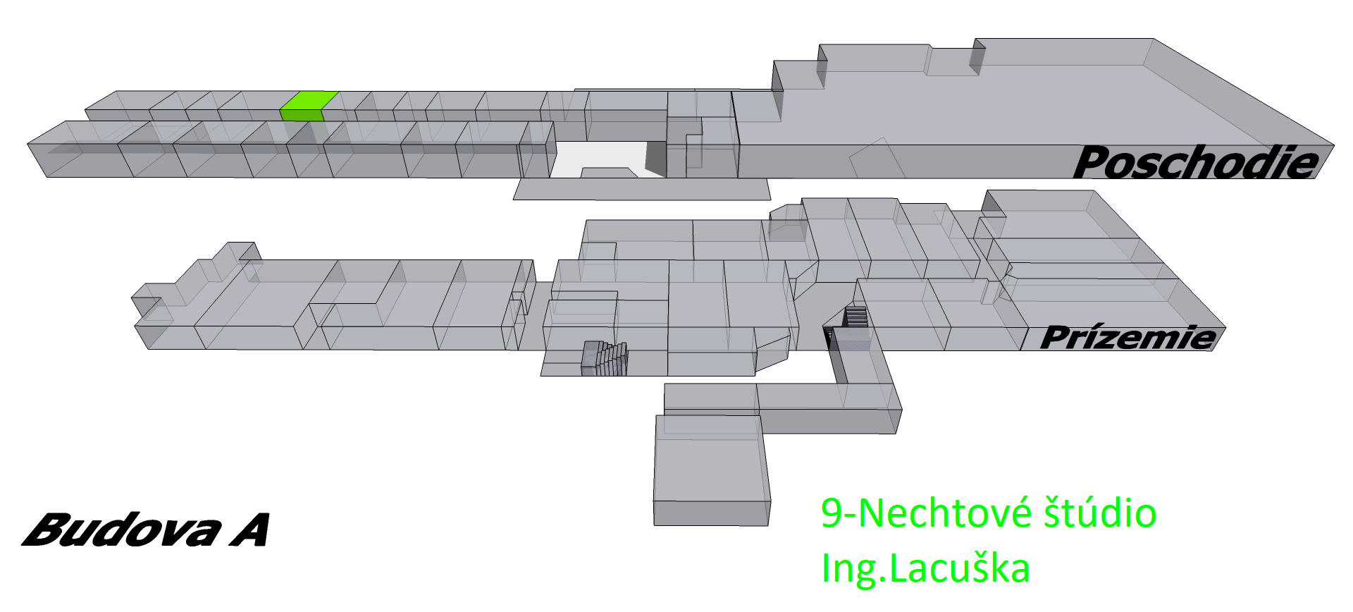 9_Nechtové štúdio - Ing.Lacuška_budova_A_poschodie_s_u